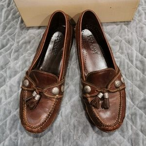 Cole Haan | Dark Brown Leather Moccasins